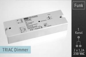 LK55 AC RF-dimmer for 230V luminaires etc -LK55-AC-mas