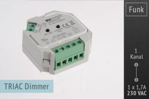 AC Funk-Dimmer für LK55 Serie (Unterputz)
