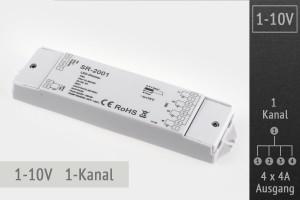 1-10V LED-Dimmer 1-Kanal, 4x4A