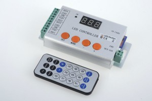 Digital LED-Controller, 4-Kanal, inkl. Fernbedienung