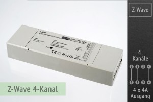 Z-Wave LED-Controller, 4x4A