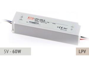 Netzteil 5V - 12A - 60 Watt