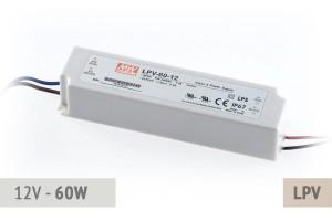 Netzteil 12V - 5A - 60 Watt
