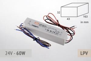 Netzteil 24V - 2.5A - 60 Watt