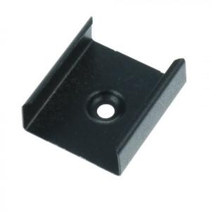 Montageklammer für Profile der PL-Serie, schwarz