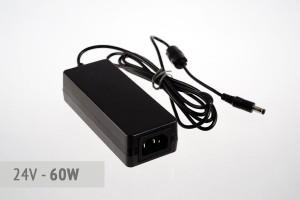 Tisch-Netzteil 24V - 2.5A - 60 Watt