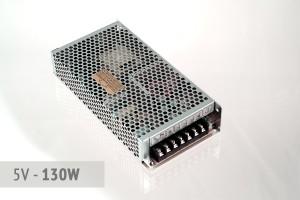 Netzteil 5V - 26A - 130 Watt | lüfterlos