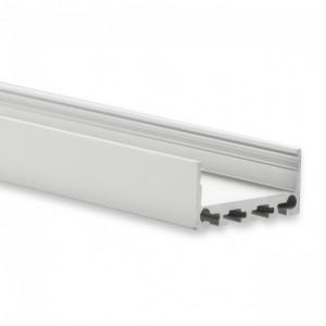 24mm LED-Aufsatz-Profil PN4-b, 2m, silber