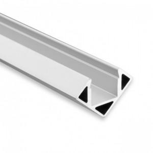 11mm LED-Eckprofil 45° PO23, 2m, silber