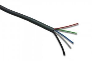 RGBW-Kabel, max. 8A, grau