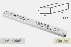 Slimline Netzteil 24V - 4.2A - 100 Watt