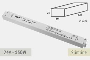 Slimline Netzteil 24V - 6.3A - 150 Watt