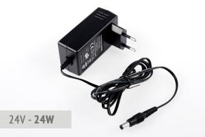 Stecker-Netzteil 24V - 1A - 24 Watt