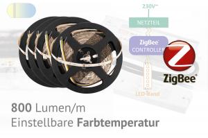 ZigBee LED-Set für Akzente - einstellbare Farbtemperatur