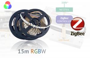 ZigBee-RGBW-LED-Set: 15 Meter