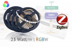 ZigBee LED-Set für Akzente - Farbeffekte mit RGBW-LEDs