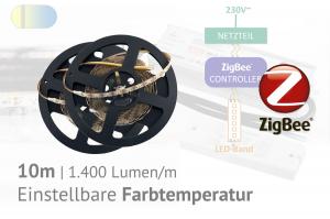 ZigBee-CCT-LED-Set: 10 Meter