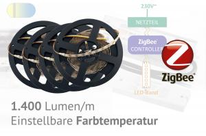 ZigBee LED-Set für Hauptlicht - einstellbare Farbtemperatur