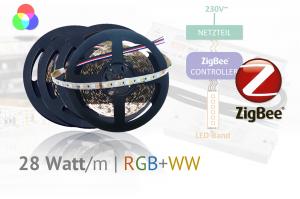 ZigBee LED-Set für Hauptlicht - plus Farbeffekte - RGB+WW