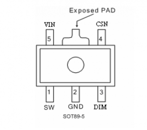 10x PT4115 LED-Treiber für KSQ
