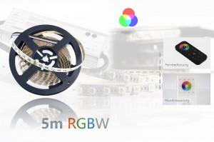 RGBW LED-Set: 5 Meter