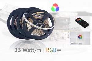 Set für Akzentbeleuchtungen - Farbeffekte mit RGBW-LEDs