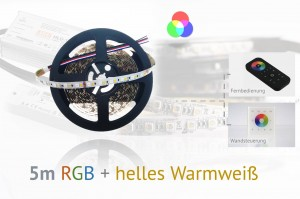 RGB+WW LED-Set: 5 Meter