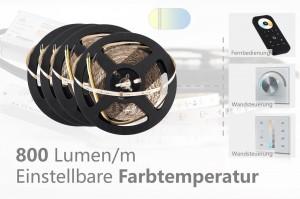 Set für Akzentbeleuchtungen - einstellbare Farbtemperatur