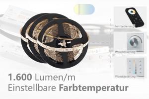 Set für helle Hauptbeleuchtungen - einstellbare Farbtemperatur