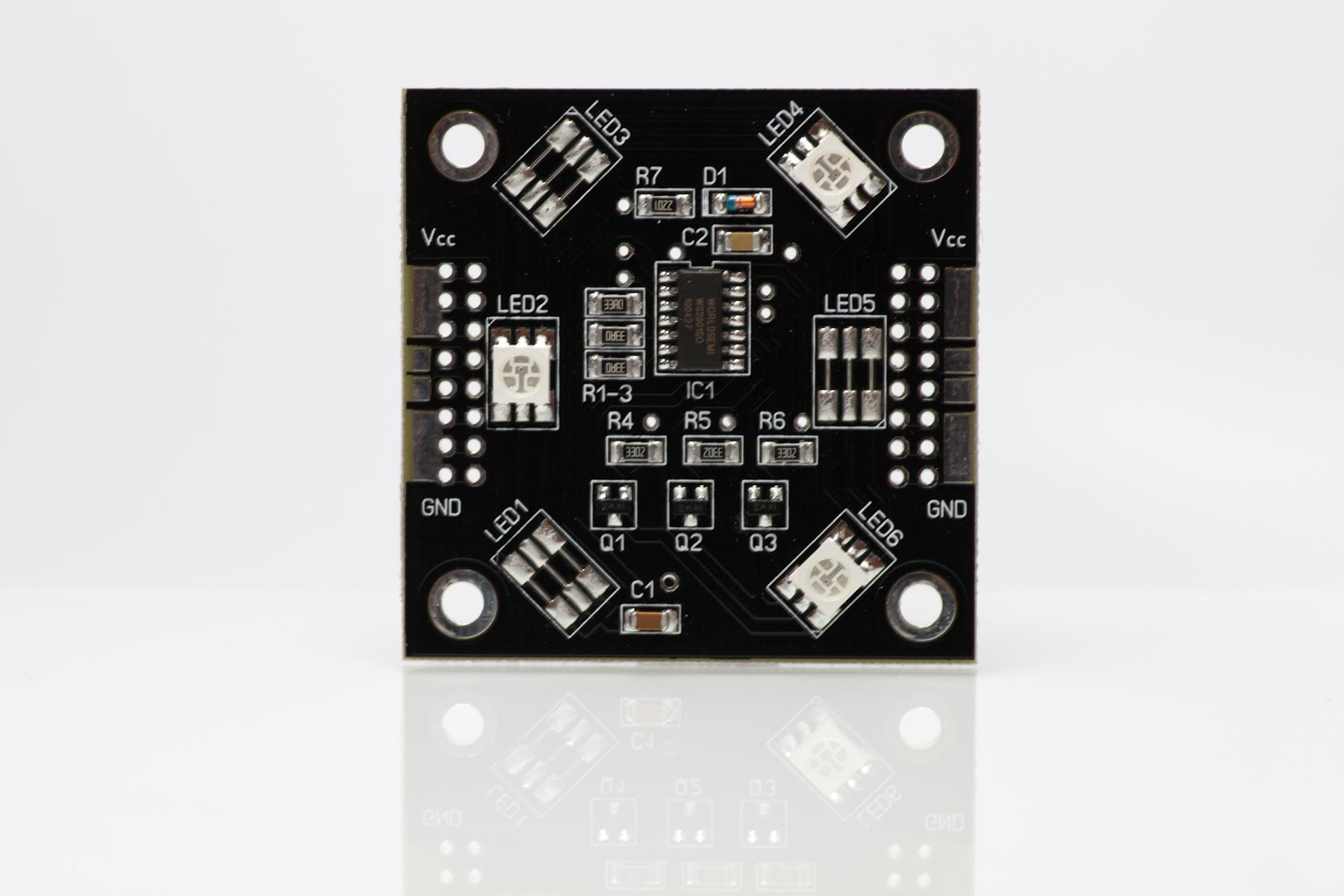 RGB-Pixel 50x50mm 3 LED ohne Verbinder