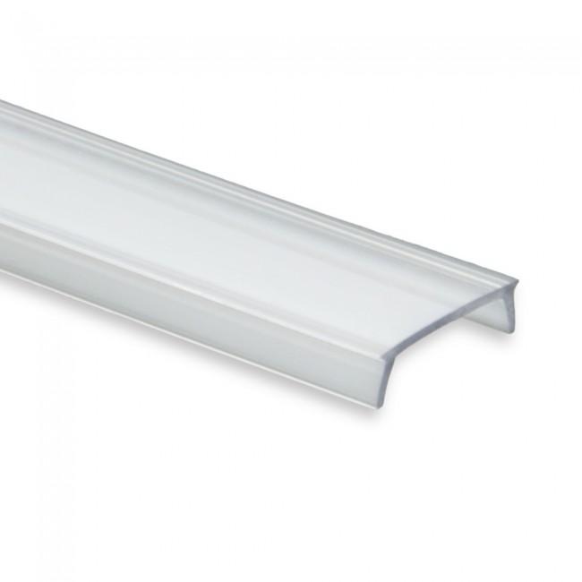 Abdeckung transparent 2m (für Profile APA, IPA, 60/30 ...)