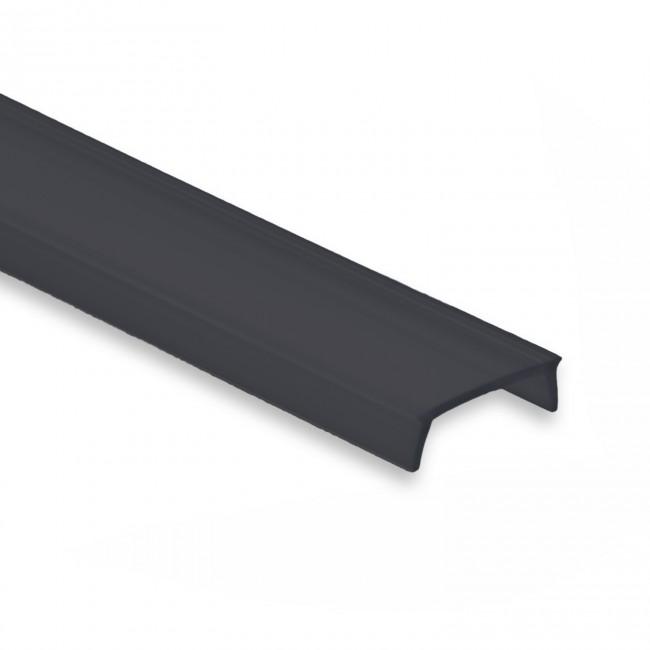 Abdeckung schwarz, satiniert 2m für Spezialeffekte