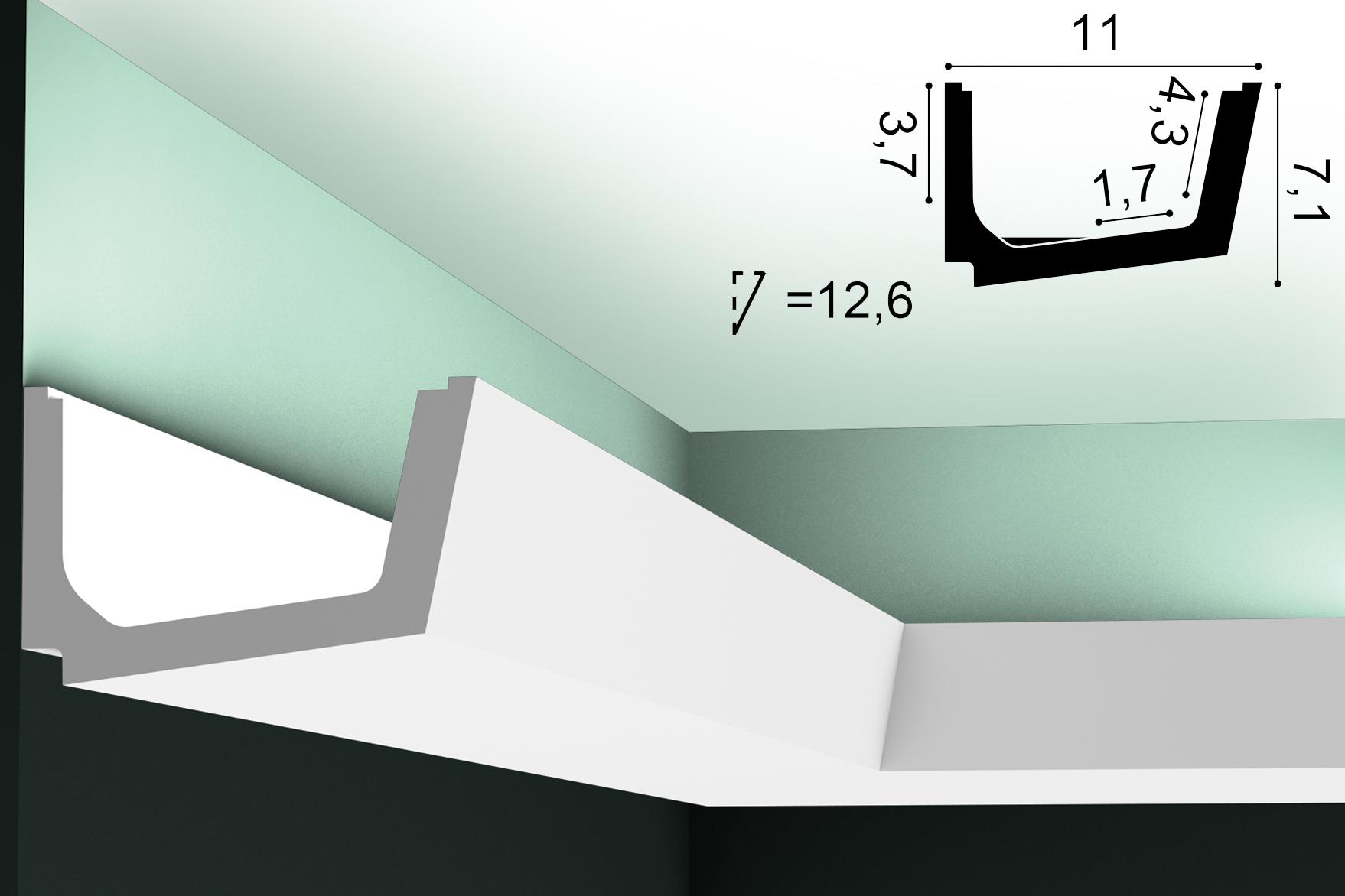 Lichtvoute ORAC C357 - 2m