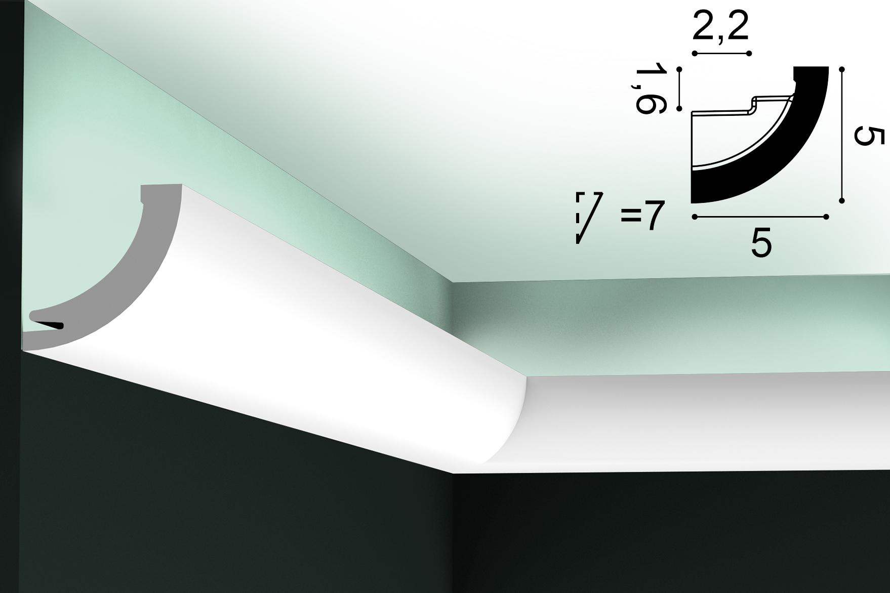 Lichtvoute ORAC C362 - 2m
