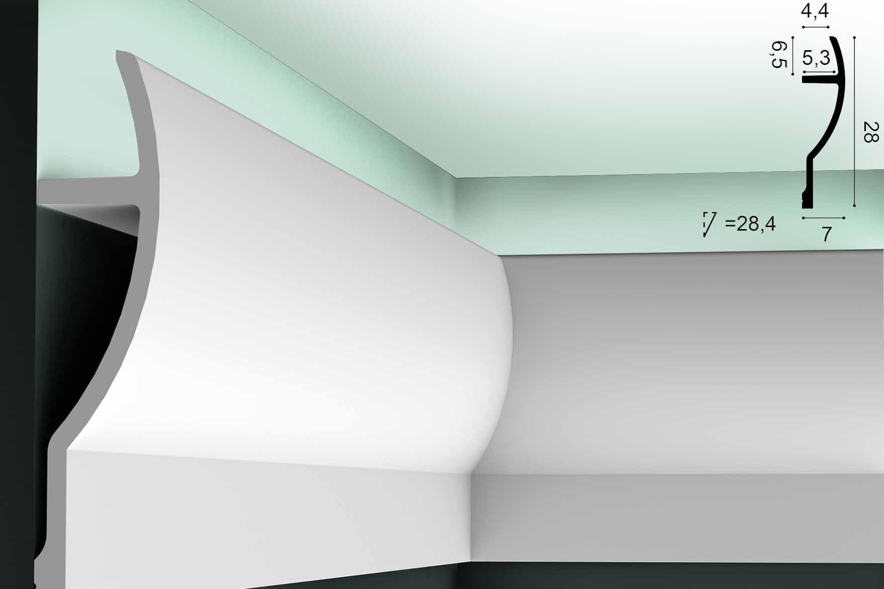 Lichtvoute ORAC C372 - 2m