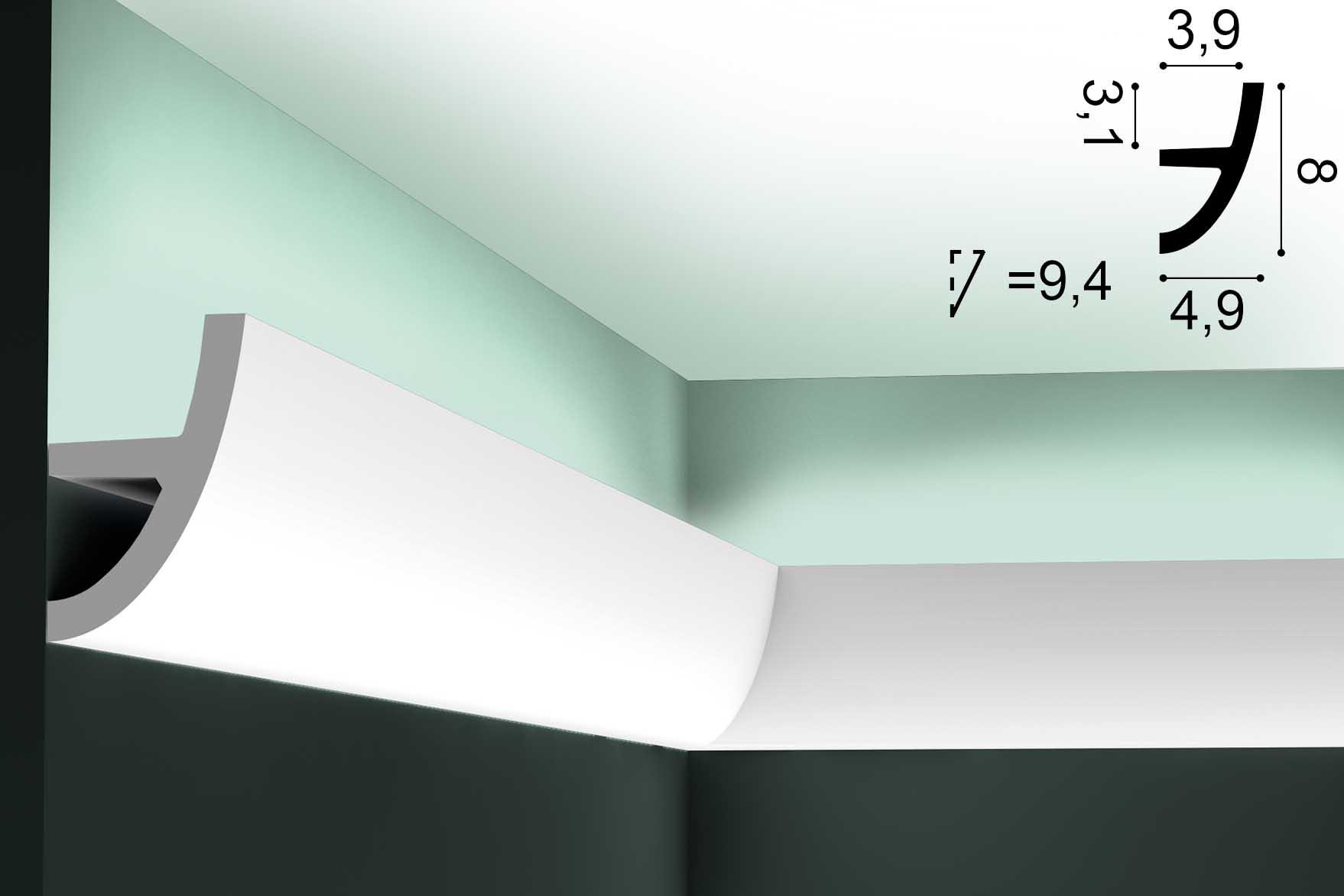 Lichtvoute ORAC C373 - 2m