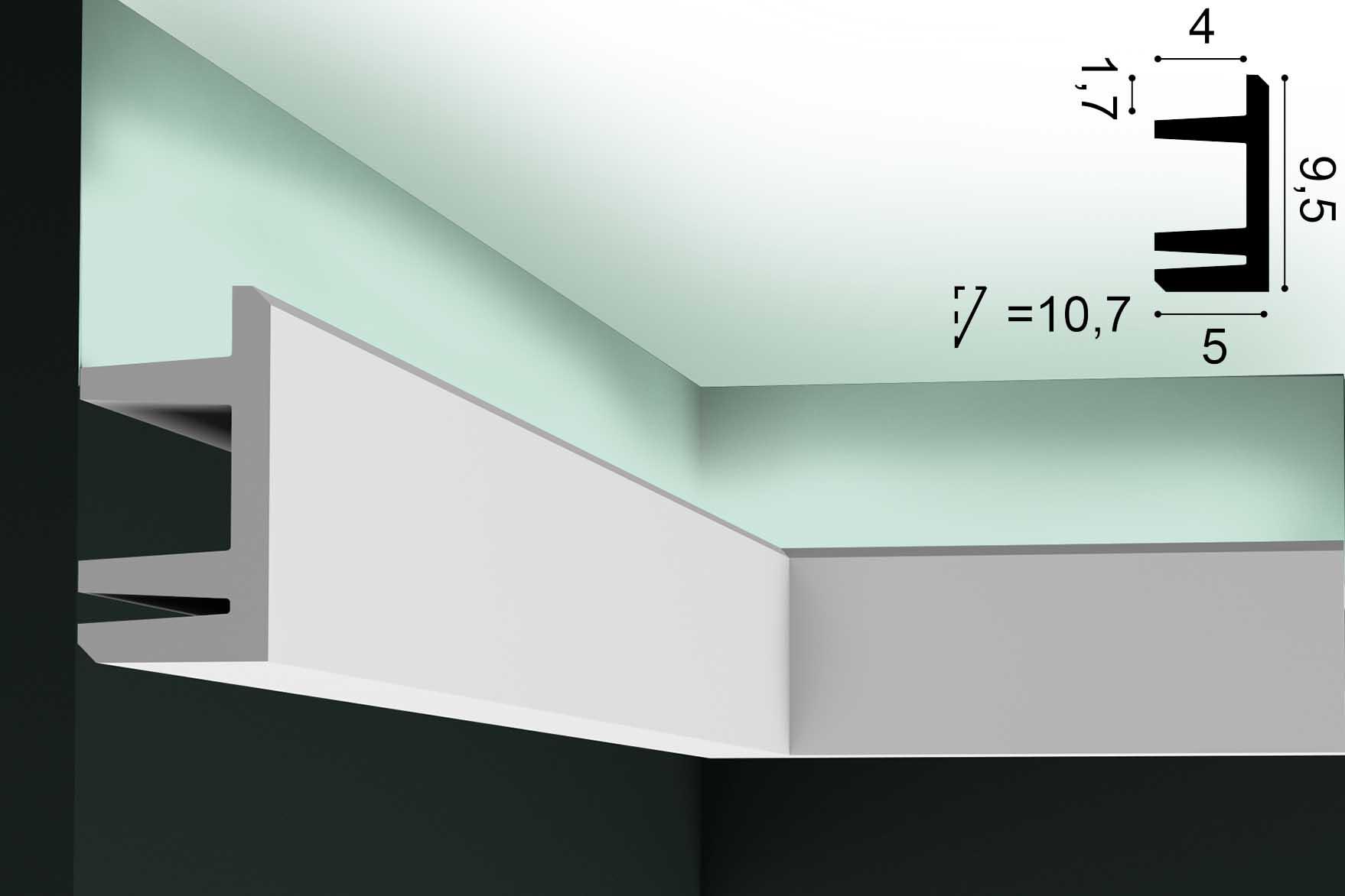 Lichtvoute ORAC C381 - 2m