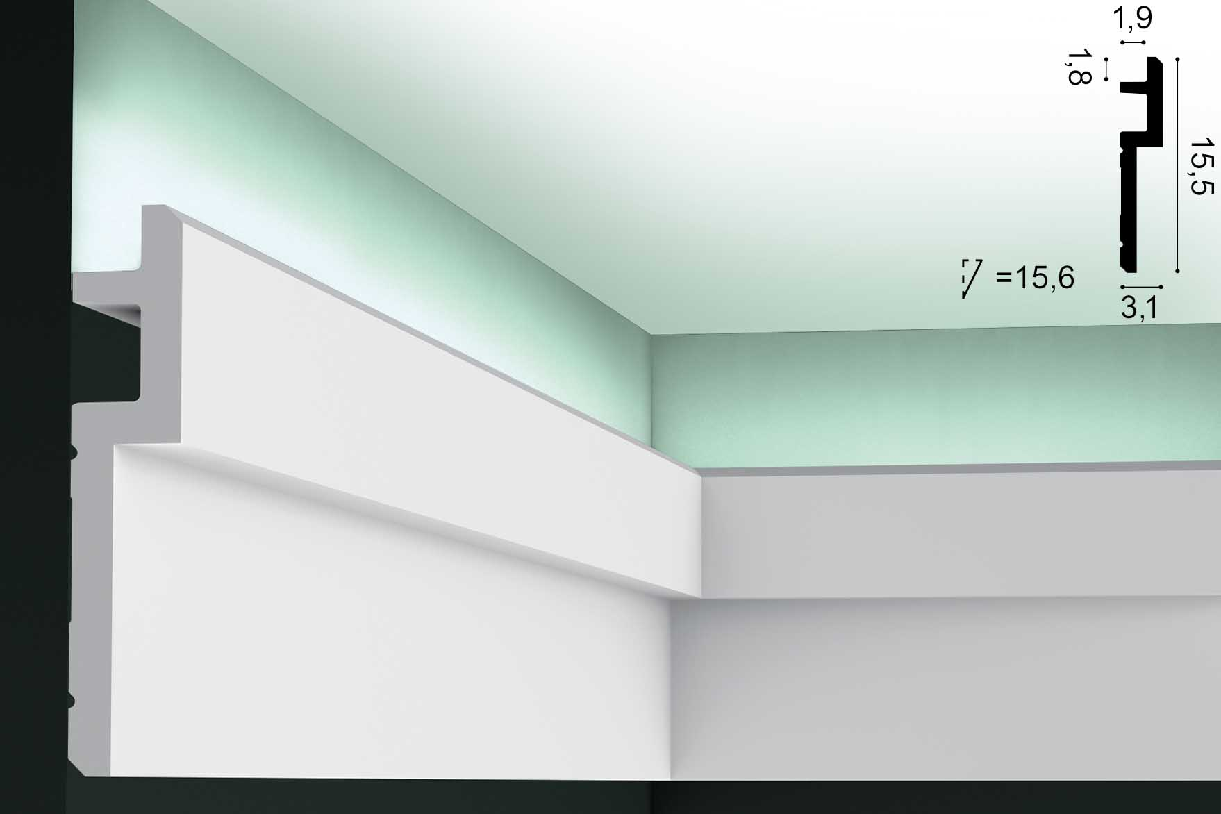 Lichtvoute ORAC C395 - 2m