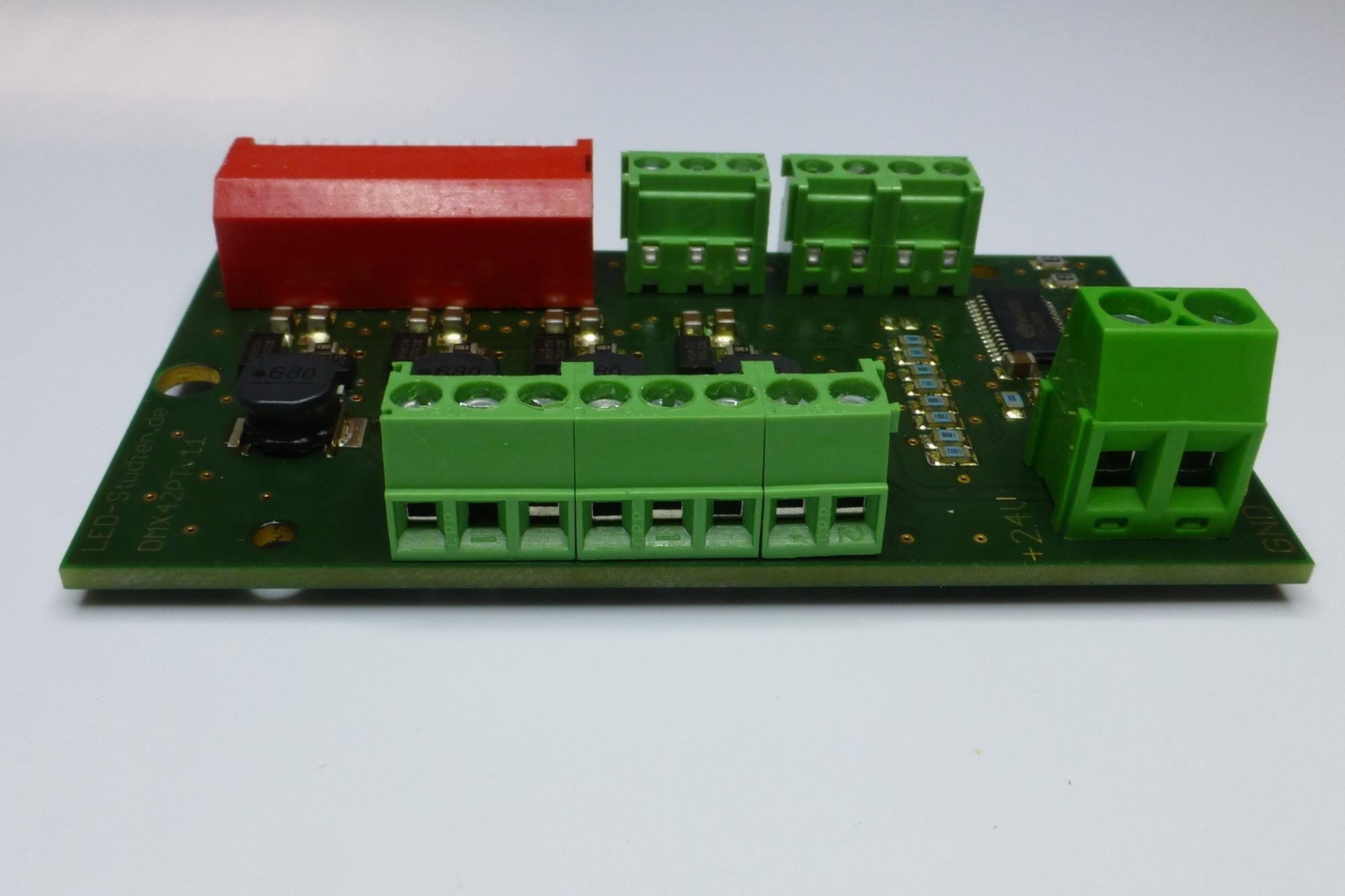 4 kanal dmx led controller my9942 mit 300 1200ma ksq for Koch 4 kanal led funkfernsteuerung