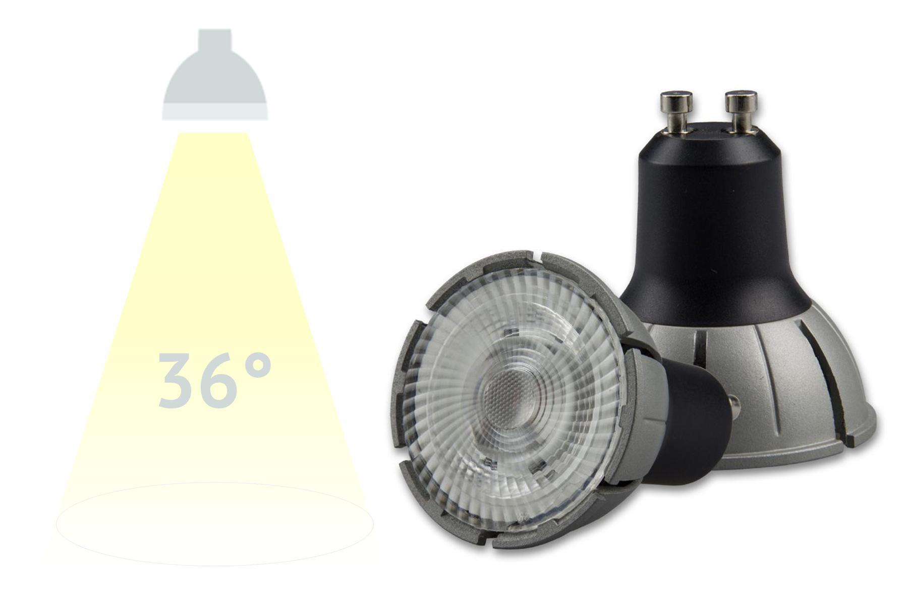 LED-Spot ISOLED, 8W, 36° - 230V GU10