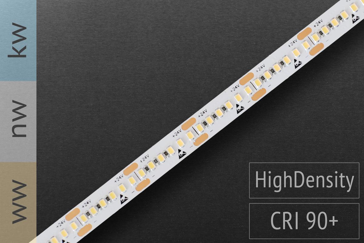 Glaskantenbeleuchung & mehr: LED-Streifen 2216 - 300 LED/m - 1.500 lm/m