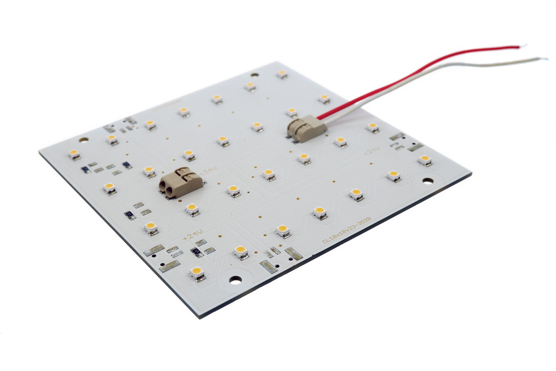 LED-Modul Platine warmweiß 3000-3500K, WAGO