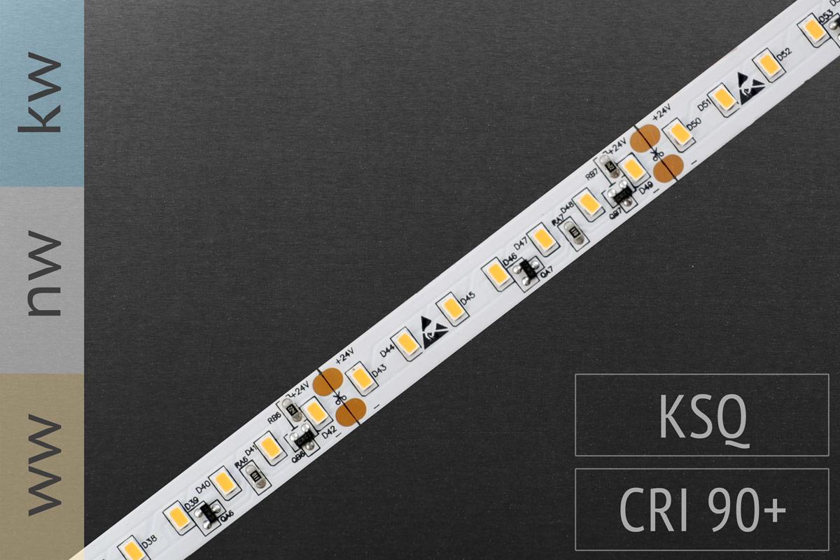 Super hell & nur 10mm schmal: LED-Streifen 3020 - 126 LED/m - 2.200 lm/m