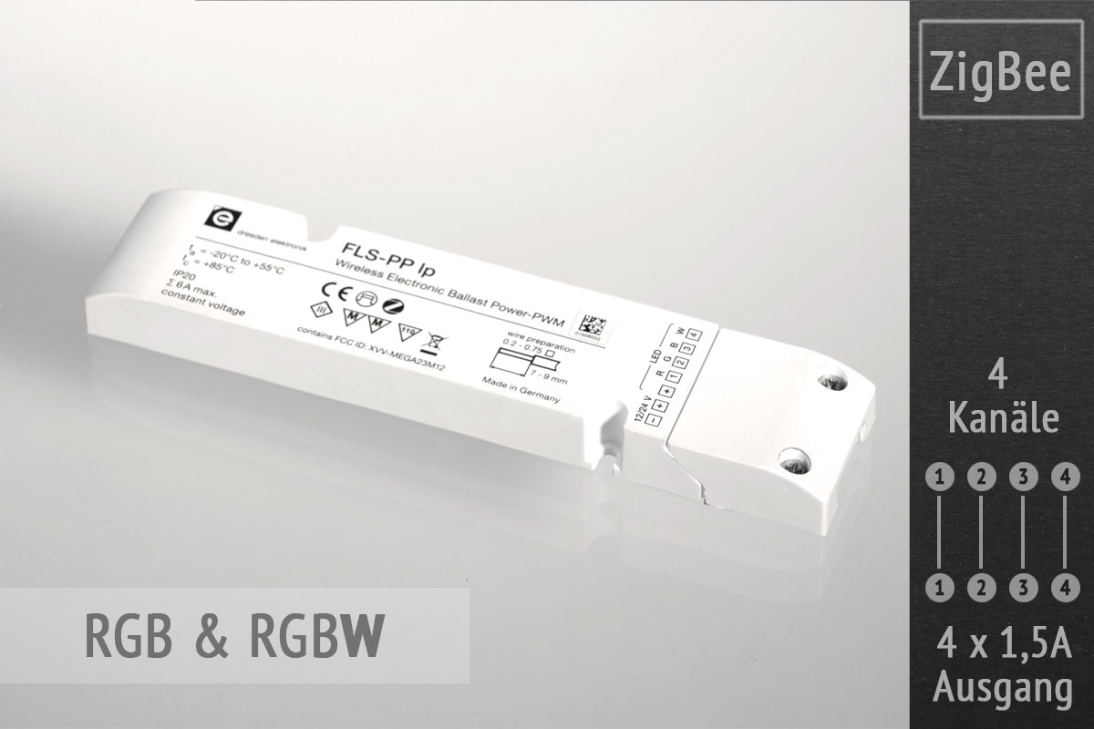 ZigBee LED Controller FLS von Dresden Elektronik