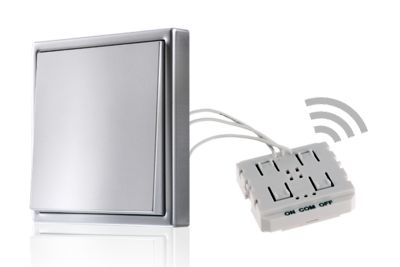 Universal dimmer integration modul for traditional light switches