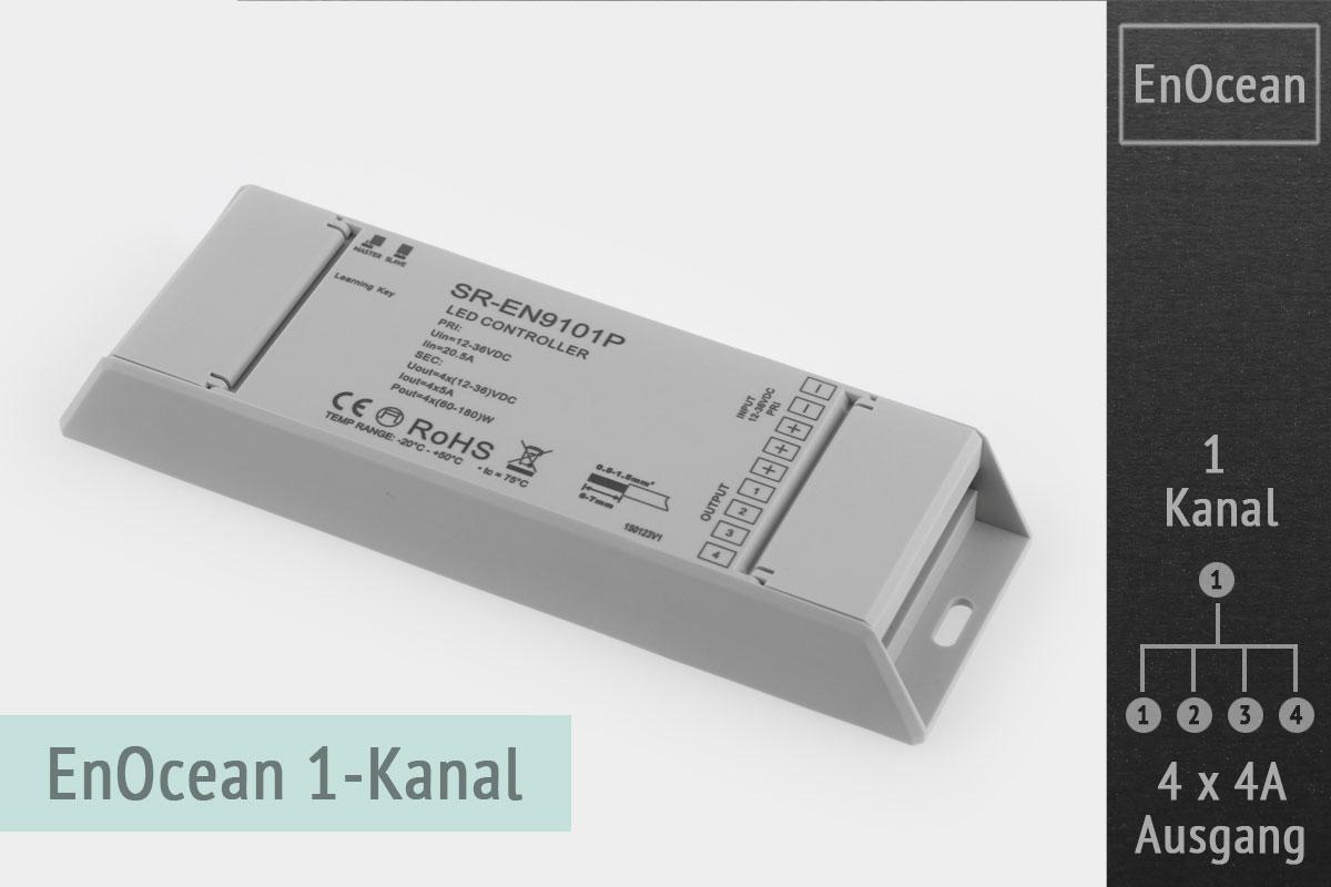 EnOcean LED-Dimmer 1-Kanal, 4x4A
