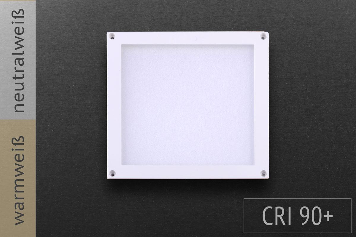 Quadrat, 10x10cm, 3W, 140lm