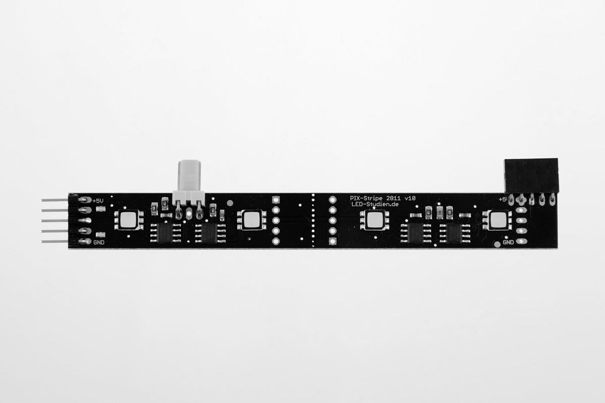 PIX-Stripe 2811 Winkel, Daten-Anschluss