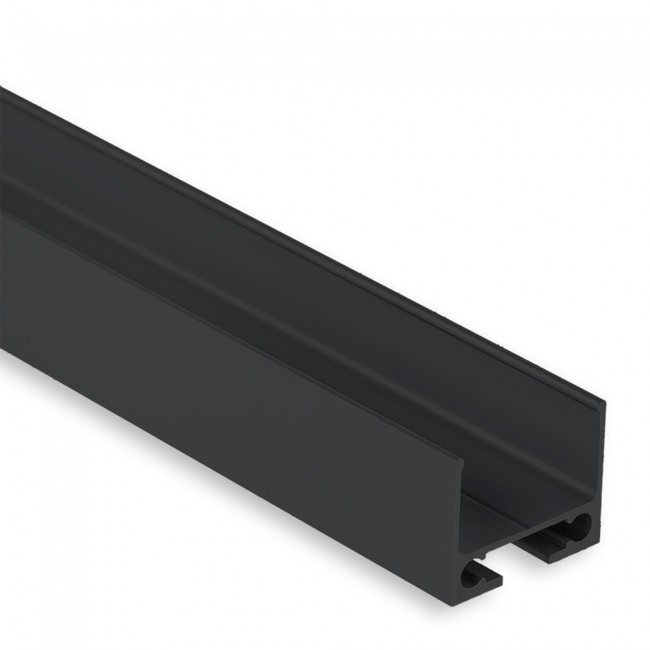 Montageschiene PL10 - 2m - schwarz