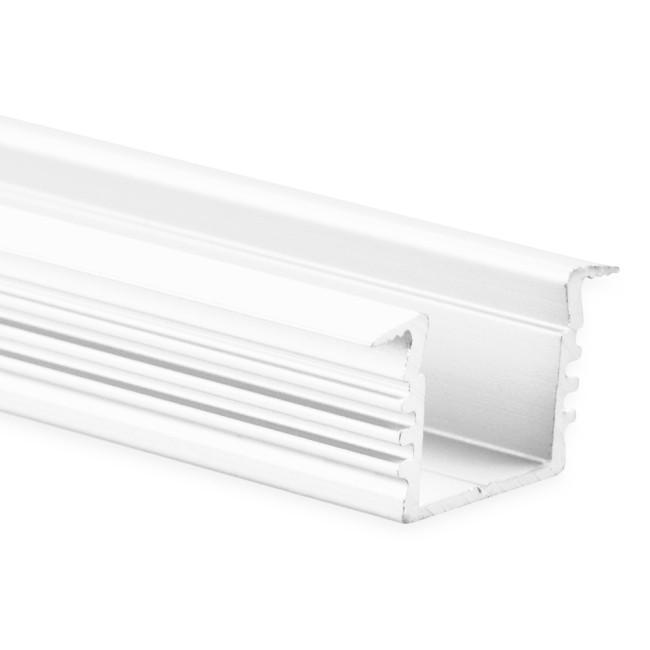 12mm LED-Einsatz-Profil PL3, weiß, 2m